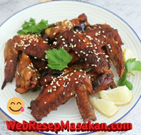 Chicken Wings Caramel, Resep chicken wings caramel,