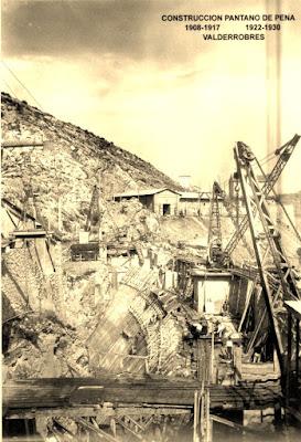 Pantano pena beceite valderrobres antigua construcción