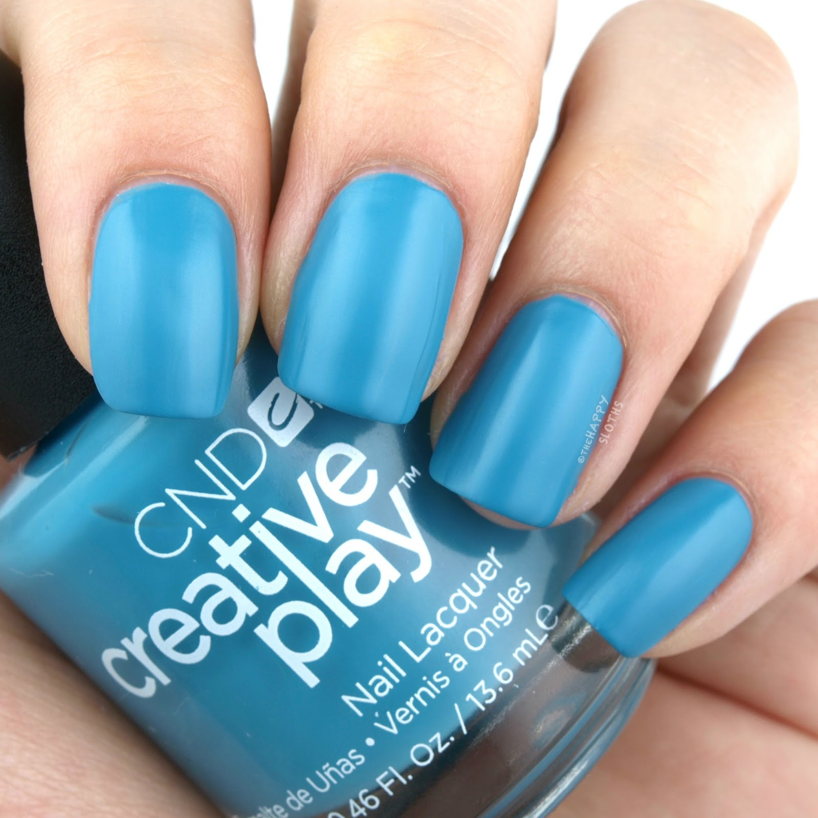 CND Creative Play Sunset Bash Collection Review and Swatches | Teal The Wee Hours
