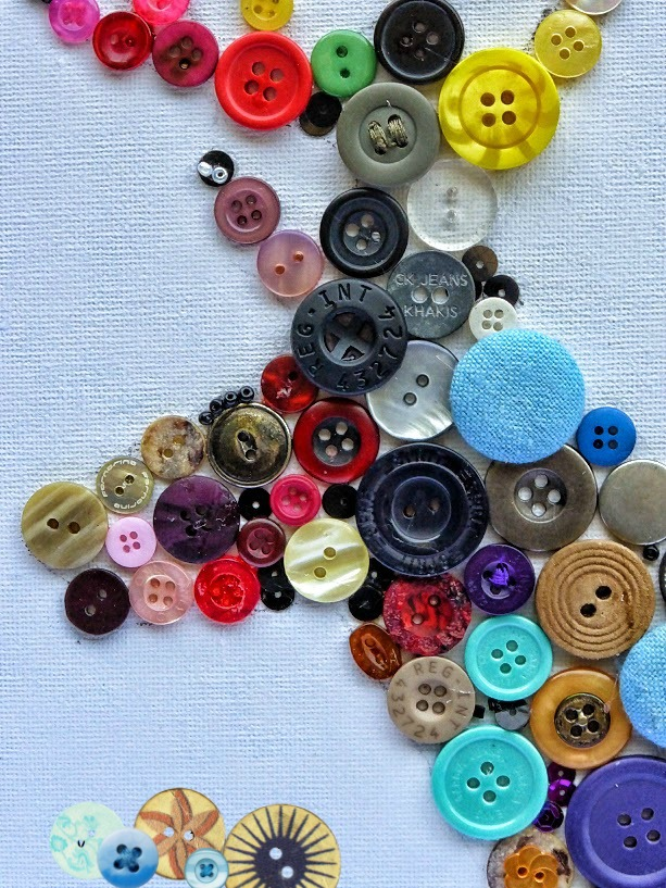 Zeer Knutselen met knopen (Diy decoratie) | ElsaRblog SJ06