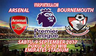 Prediksi Arsenal vs Bournemouth 9 September 2017