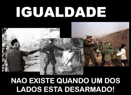 ANTES E DEPOIS DO ESTATUTO GENOCIDA DO DESARMAMENTO