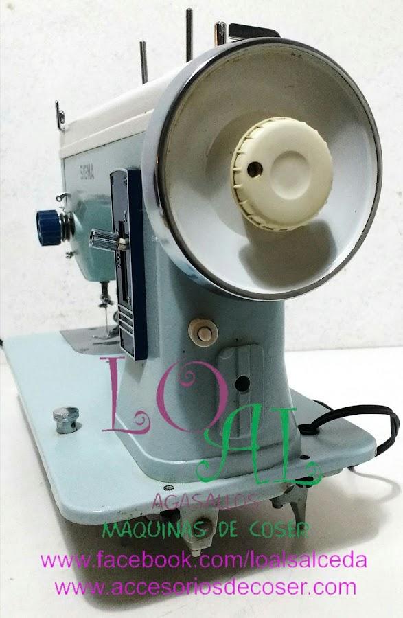 maquia de coser sgma 140 vista volante