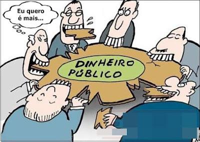 Resultado de imagem para dinheiro público