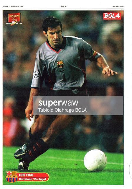 POSTER LUIS FIGO (BARCELONA 1999)