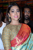 Shriya Saran Looks Stunning in Silk Saree at VRK Silk Showroom Launch Secundrabad ~  Exclusive 010.JPG