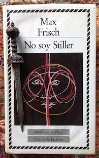 Portada del libro No soy Stiller, de Max Frisch