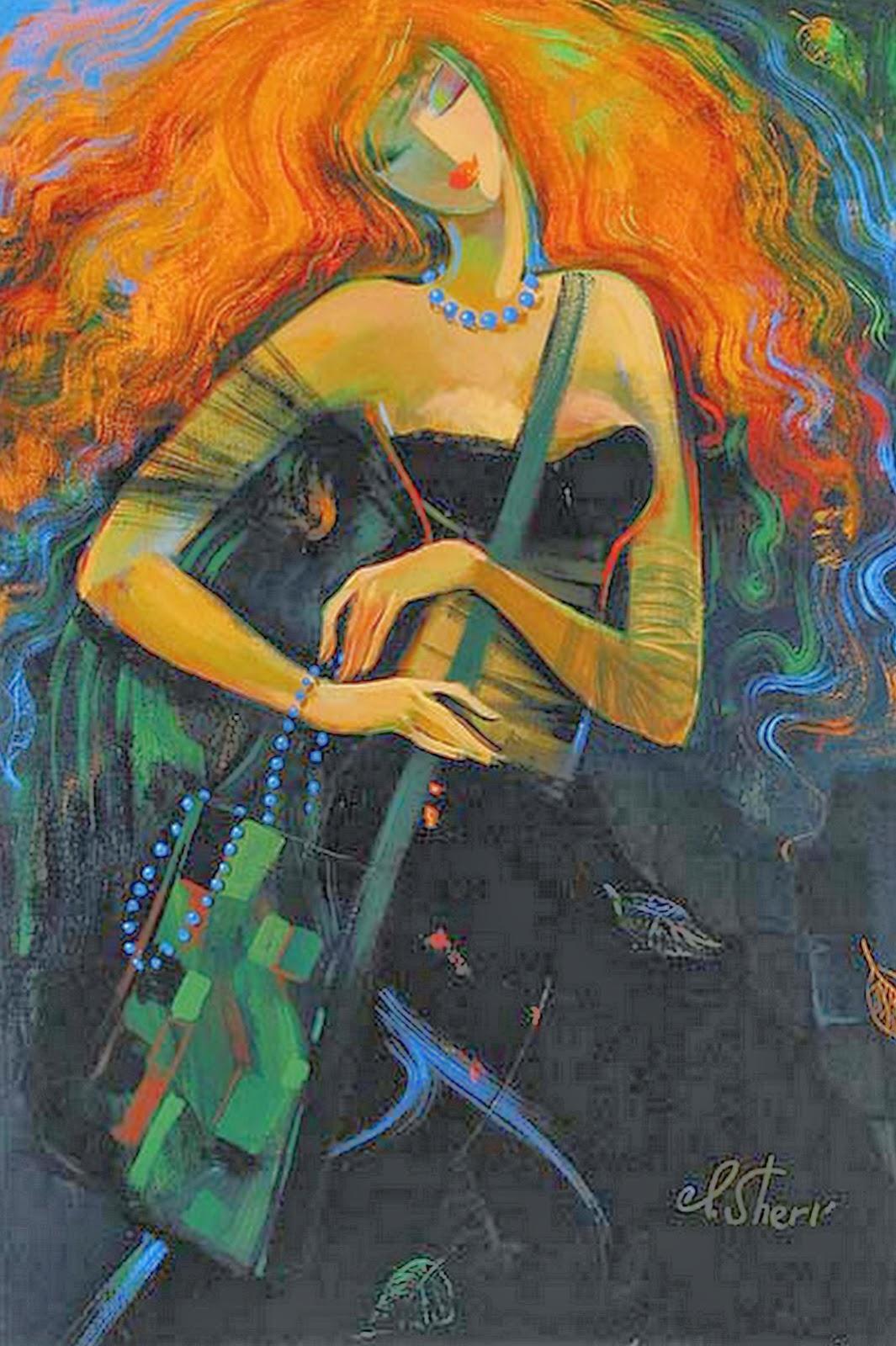Resultado de imagen para Pintora Irene Sheri