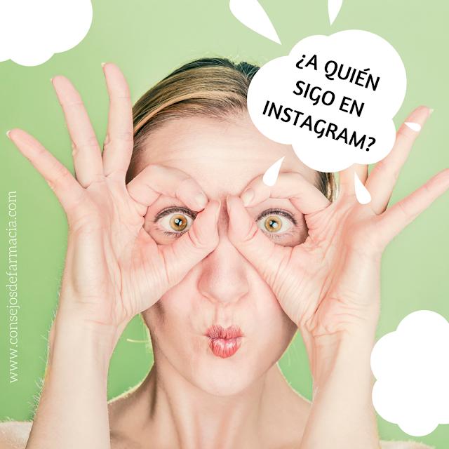 #InstagramyFarmacia ¿A quién sigo en Instagram?