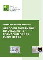 Informe Grado en Enfermería: Mejoras en la formación de las Enfermeras