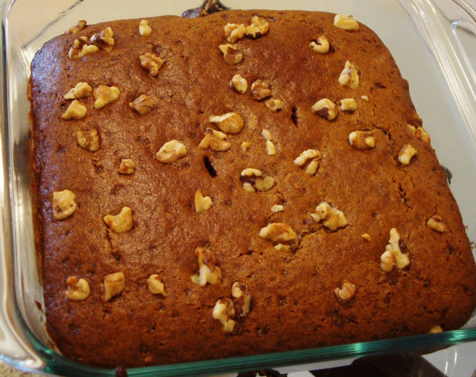 Date Walnut Cake Recipe Indian