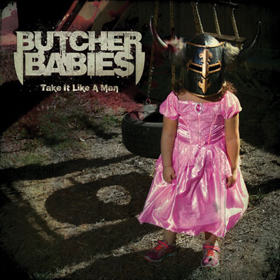 The 10 Worst Album Cover Artworks of 2014: 08. Butcher Babies - Take It Like a Man