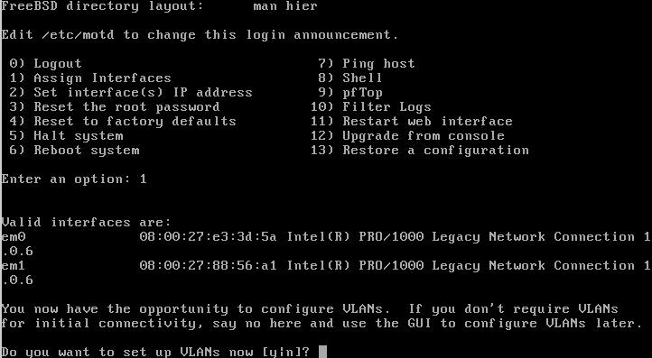 OPNsense - Firewall Open Source