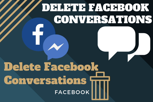 Delete Facebook Conversations