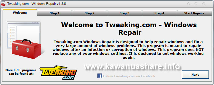 Download Tweaking com Windows Repair MajorGeeks Tweaking com Repair