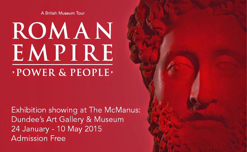 'Roman Empire: Power And People' at The McManus Art Gallery and Museum, Scotland