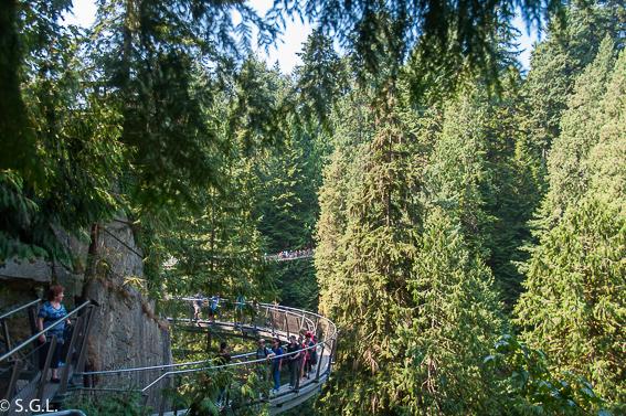 Parque Capilano Vancouver