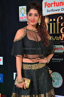 Ritika Singh in a Ethnic Deep Neck Dark Green Choli Ghagra at IIFA Utsavam Awards March 2017 ~ 022.JPG