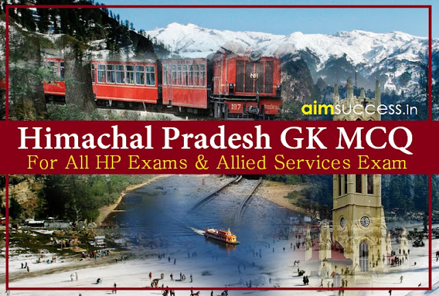 Himachal Pradesh GK Questions for HP Allied Services Exam