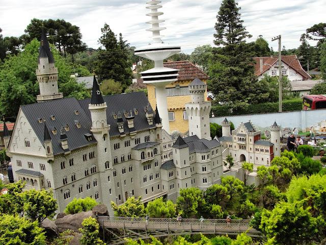 Castelo Neuschwanstein, Mini Mundo, Gramado.