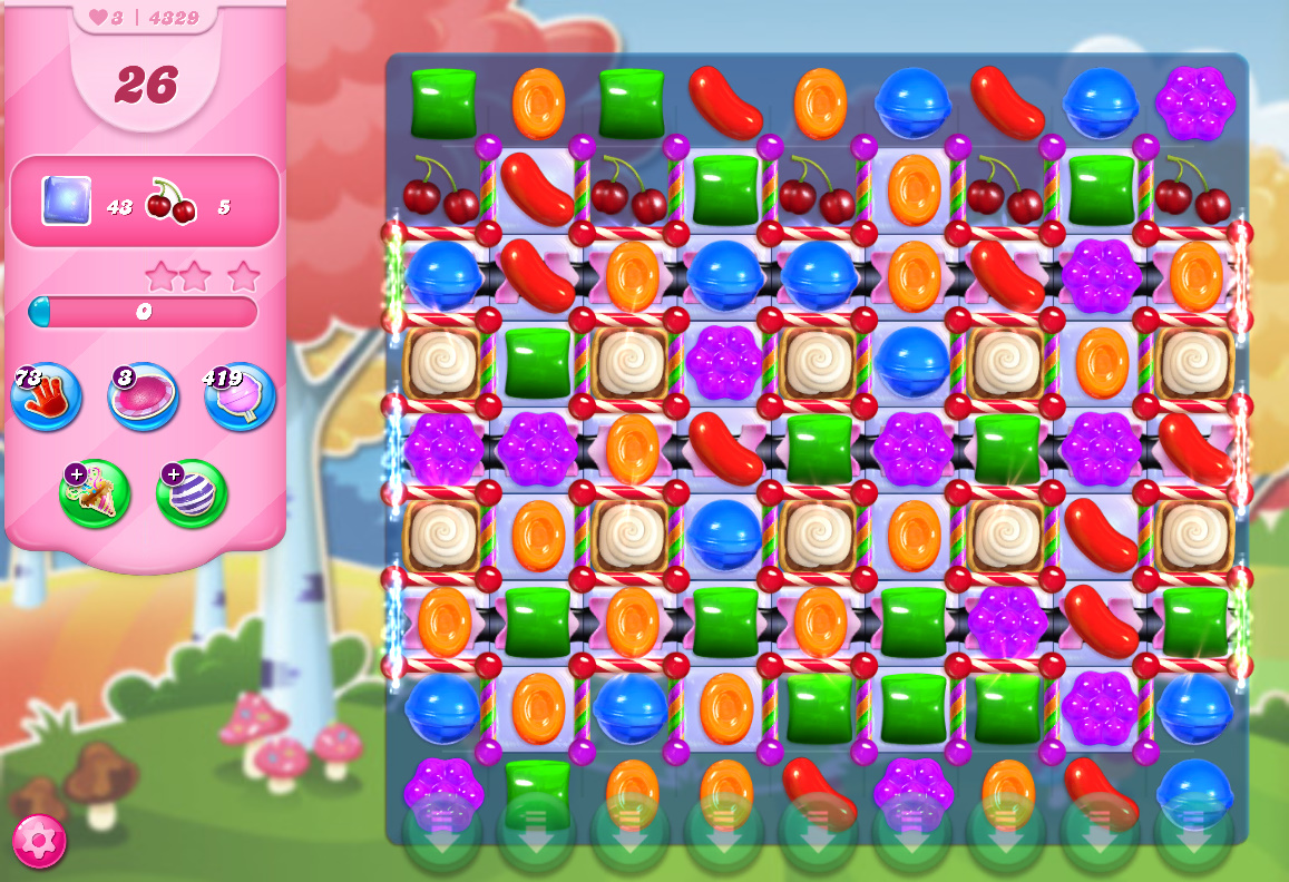Candy Crush Saga level 4329