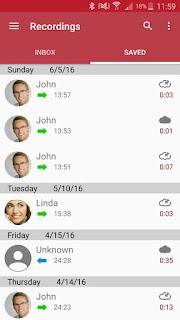 Automatic Call Recorder Pro screenshot 0