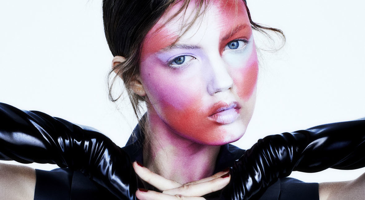 lindsey wixson by henrik bulow for fat issue d spring/summer 2014