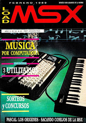 Revistas Load MSX en Retroinvaders