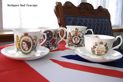 Antiques And Teacups: Tuesday Cuppa Tea, Queen Elizabeth ...