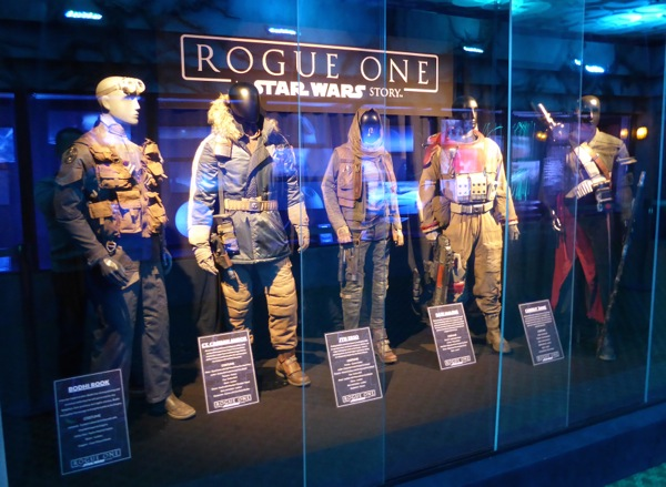 Rogue One Star Wars film costumes