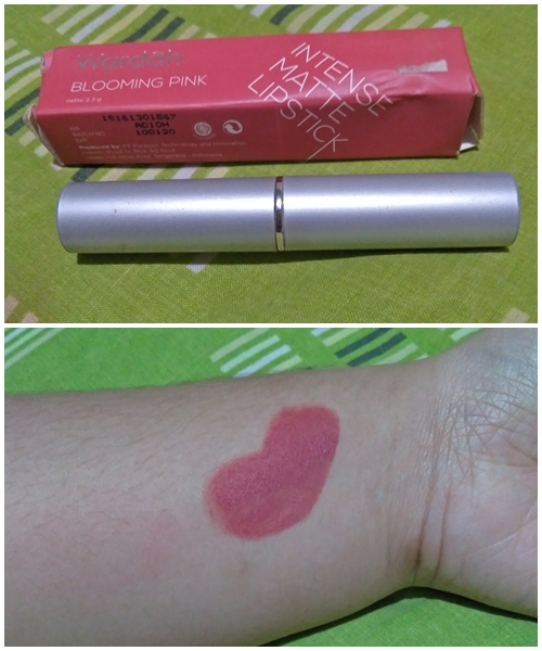 Review Wardah Intense Matte Lipstick, Blooming Pink 06!