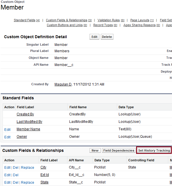 Infallible Techie: How to track field history in Salesforce