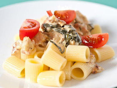 Chicken with Vermicelli and Pasta