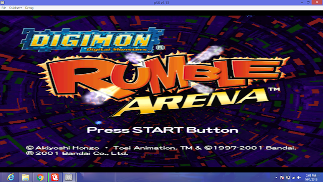 Download Digimon Rumble Arena PS 1 ISO High Compress