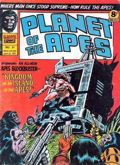 Marvel UK Planet of the Apes #31