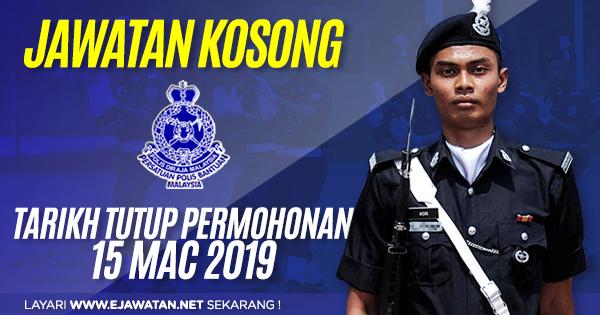 jawatan kosong polis bantuan Pejabat Pos Malaysia