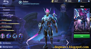 guide saber mobile legends