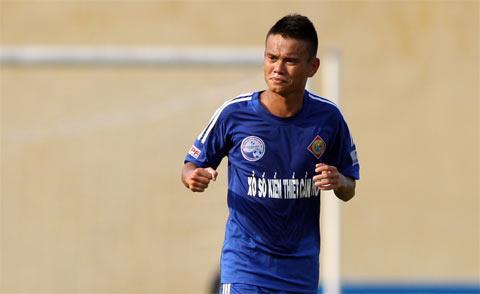 Cầu thủ Phan Thanh Hưng.