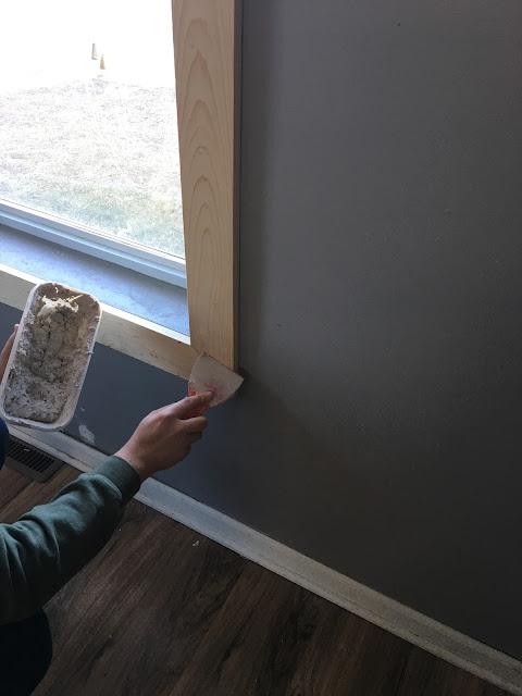 Simple window trim diy