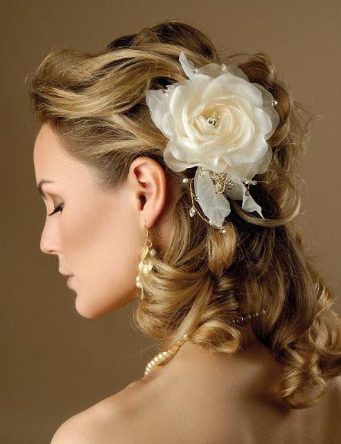 Dicas para um penteado de noiva perfeito