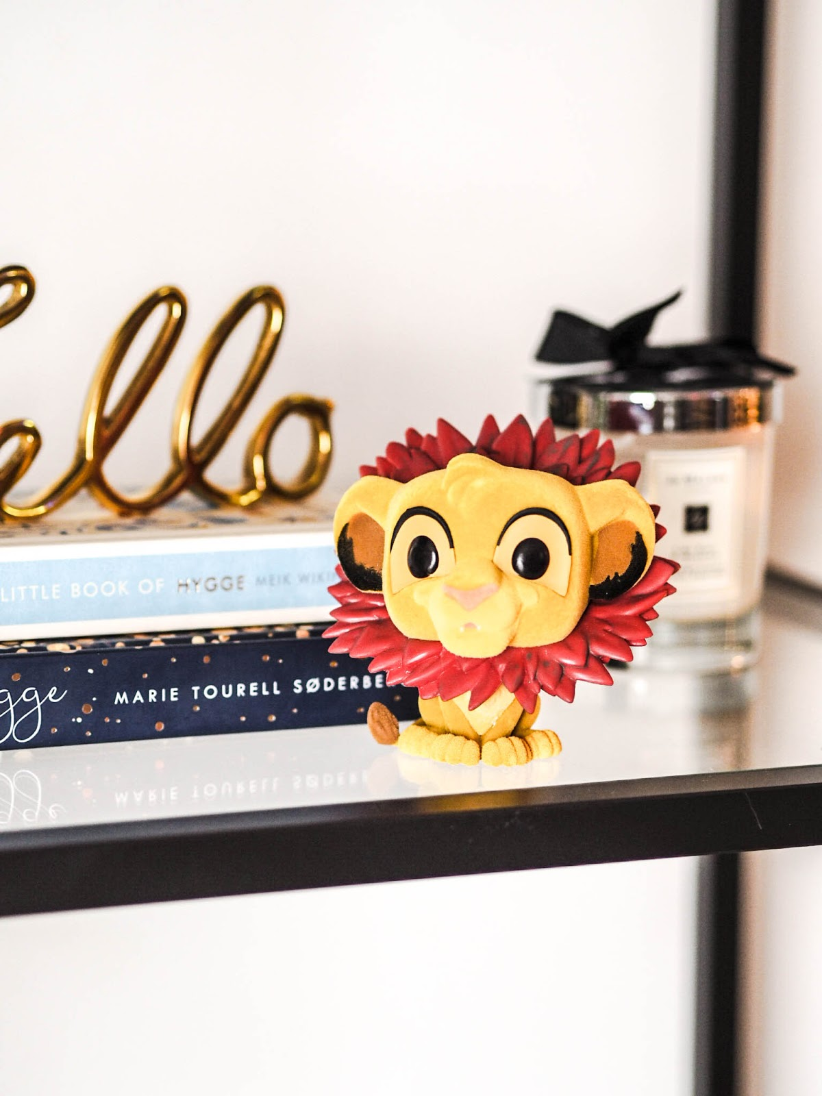 Funko Pop Flocked Simba