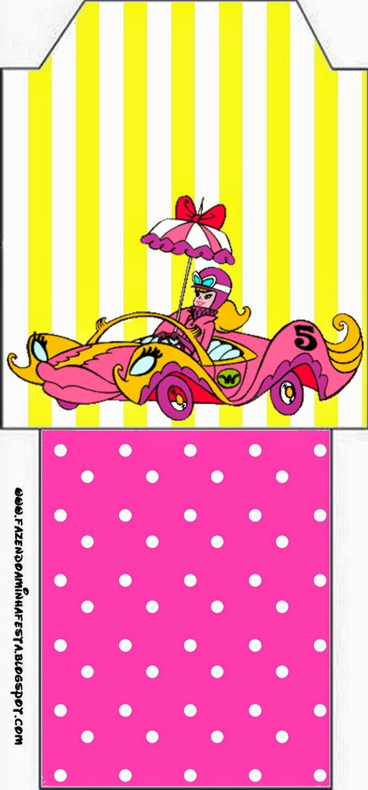 Bolsita de Té para imprimir gratis de Penelope Glamour Retro.