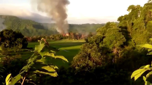 Citra Satelit Terbaru Tunjukkan 214 Desa-Desa Rohingya di Rakhine Hancur Total