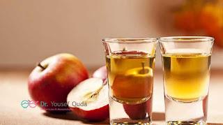 فائدة خل التفاح في علاج البقع البيضاء