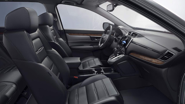 novo Honda CR-V 2017 - interior