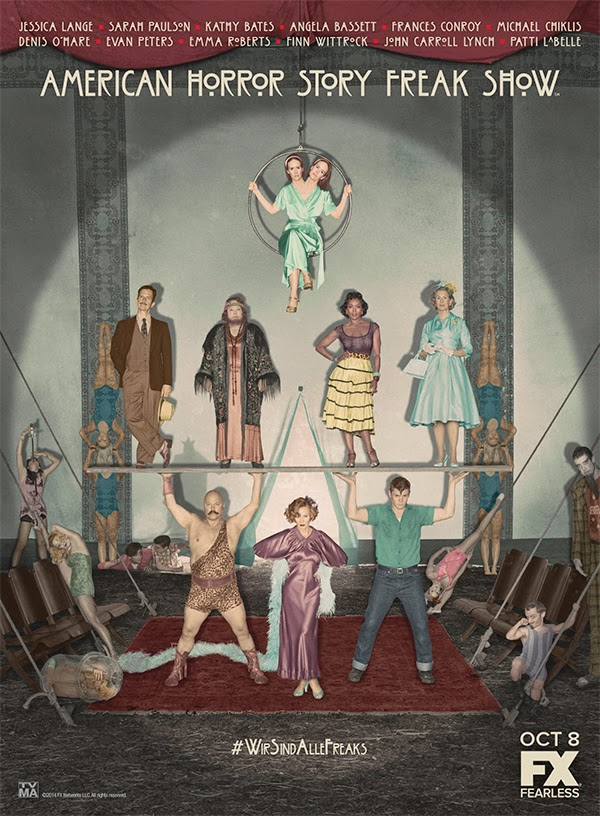 Poster final American Horror Story Freak Show