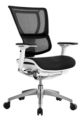 White on Black iOO Chair