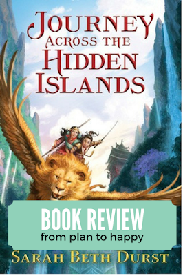 Sarah Beth Durst's Journey Across the Hidden Islands is a solidly middle grade book (I've been having feelings about books being called Middle Grade that seemed more YA) about two twin sisters, who happen to be princesses, and who go on an epic adventure.