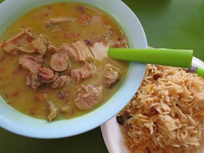 Bahrakath Mutton Soup King, lamb ribs and tongue