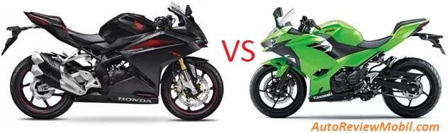 Perbandingan Kawasaki Ninja 250 model 2018 VS CBR250RR